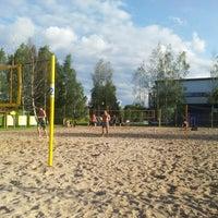 "Photo taken at Pludmales sporta centrs ""Brazīlija"" by Maris K. on 8/13/2012"