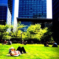 Photo taken at David Pecaut Square by Jason P. on 5/15/2012