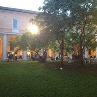 Photo taken at Student's Hostel della Ghiara by Simone M. on 4/30/2012