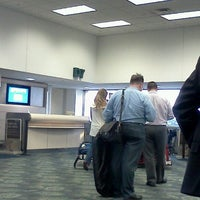 Photo taken at Gate D8 by Chad M. on 6/11/2012