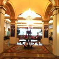 Photo taken at Omni Shoreham Hotel by Ricardo f. on 7/4/2012