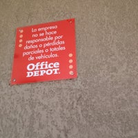 Photo taken at Office Depot by Chapa13zon on 3/30/2012