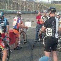 Photo taken at Garden State Velodrome @ Wall Stadium by GetOutsideNJ Jeff on 6/14/2012