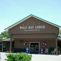 Photo taken at Wolf Bay Lodge by Zach R. on 6/3/2012