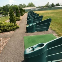 Photo taken at T-Off Golf Driving Range by Zachary G. on 6/21/2012