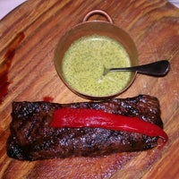 Photo taken at Chimichurri Grill by Esther T. on 9/10/2012