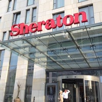 Photo taken at Sheraton Bratislava Hotel by Cherry L. on 7/9/2012