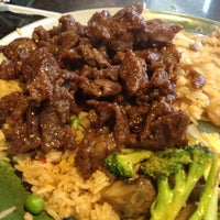 Photo taken at Shogun Japanese Steak House by Elizabeth P. on 4/21/2012