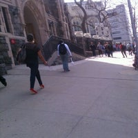 Photo taken at The City College of New York by Lucy S. on 3/20/2012