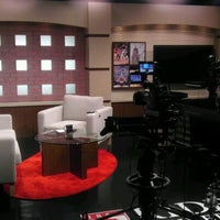 Photo taken at TV Studio by Jim V. on 5/18/2012