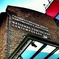 Снимок сделан в Государственный центр современного искусства (ГЦСИ) пользователем Sasha K. 5/25/2012
