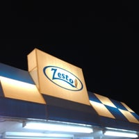 Photo taken at Zesto by Jill M. on 3/11/2012
