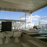 Photo taken at Terraza Room Mate Óscar by Mourad K. on 5/2/2012