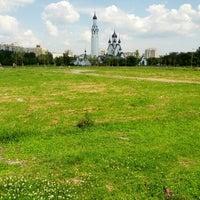Photo taken at Парк Строителей by Yury on 7/7/2012