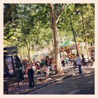 Photo taken at Place des Abbesses by Patrice B. on 8/27/2012