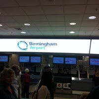 Photo taken at Birmingham Airport (BHX) by Jacqueline B. on 7/3/2012