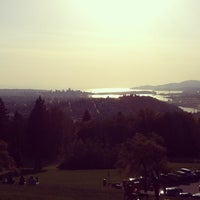 Photo taken at Burnaby Mountain Park by amijat on 5/13/2012