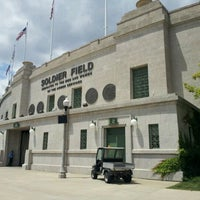 Photo taken at Soldier Field by Kris M. on 5/30/2012