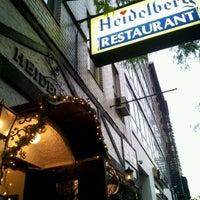 Photo taken at Heidelberg Restaurant by Katelyn P. on 5/18/2012