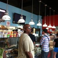 Photo taken at Bergen Bagels on Myrtle by John H. on 7/13/2012