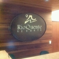 Photo taken at Rio Quente Resorts by Simone B. on 2/24/2012
