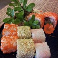 Photo taken at Kensaku Japanese Restaurant by Evlyn T. on 3/7/2012
