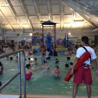 Photo taken at Silliman Family Aquatic Center by Curtis L. on 6/17/2012