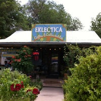 Photo taken at Eklecticafe by Tracy K. on 7/7/2012