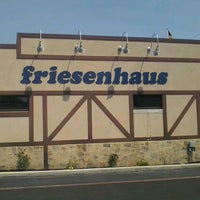 Photo taken at Friesenhaus Restaurant And Bakery by Kami G. on 6/10/2012