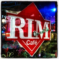Photo taken at Rim Cafe by Alex S. on 4/22/2012