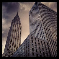 Photo taken at Chrysler Building by Ted P. on 6/6/2012