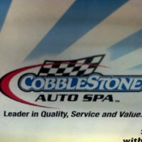 Photo taken at Cobblestone Auto Spa by Joey M. on 6/21/2012