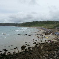 Photo taken at Sennen Cove by Toby P. on 8/26/2012
