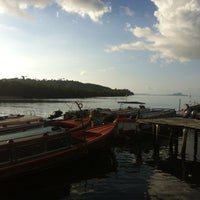 Photo taken at Bang Rong Pier by Mr. Shown Lee w. on 6/28/2012