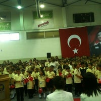 Photo taken at FMV Ayazağa Işık Lisesi by Berna H. on 9/10/2012