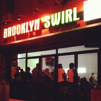 Photo taken at Brooklyn Swirl by Brooklyn S. on 8/15/2012