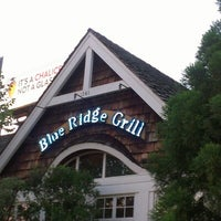 Photo taken at Blue Ridge Grill by Geoff C. on 9/12/2012