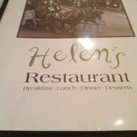 Photo taken at Helen's Restaurant by Marsh S. on 2/10/2012