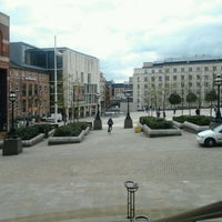 Photo taken at Millennium Square by Jack L. on 4/24/2012