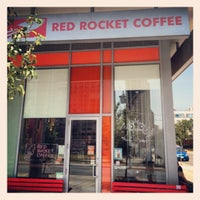 Photo taken at Red Rocket Coffee by Peter K. on 7/14/2012