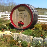 Photo taken at Truro Vineyards of Cape Cod by Gina P. on 4/16/2012