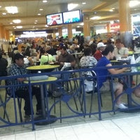 Photo taken at Square One Food Central by Brandon on 8/11/2012