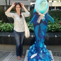 """Photo taken at """"Heery International"""" Dolphin on Parade at Colony Square by EvAn W. on 9/7/2012"""
