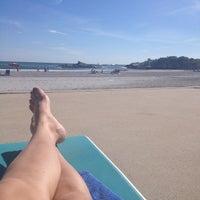 Photo taken at Spouting Rock Beach Association by Leta C. on 8/6/2012