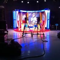 Photo taken at Broadcast City by alder a. on 6/29/2012