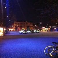 Photo taken at Möllevångstorget by Øyvind D. on 2/10/2012