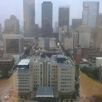 Photo taken at Harris County Criminal Justice Center by Silverio V. on 7/12/2012
