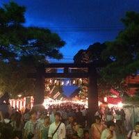 Photo taken at Hakozakigu Shrine by Aya K. on 9/13/2012