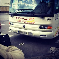 Photo taken at Barcelona Bus by Helmi A. on 6/18/2012