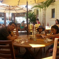 Photo taken at Café des Amis by Eunjung C. on 7/29/2012